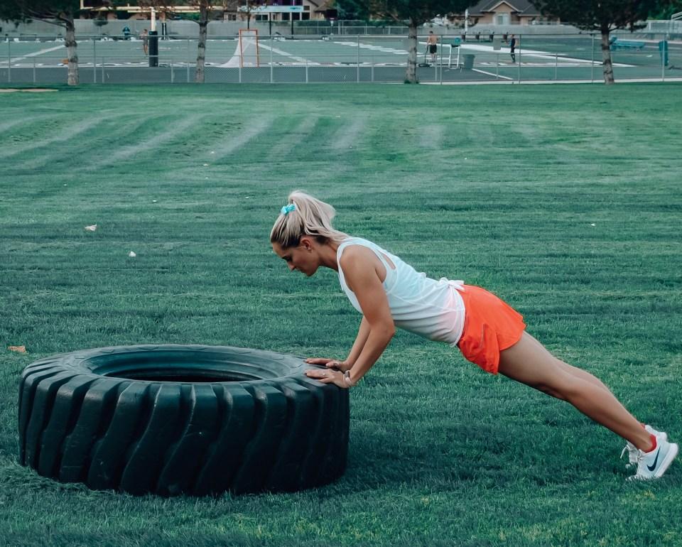 strength training outdoors