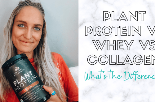 plant protein vs whey vs collagen difference