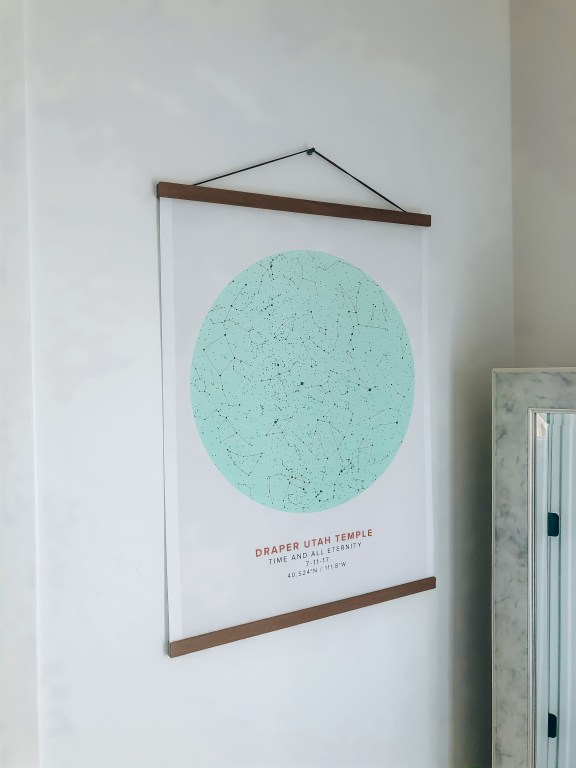 star map from Mapiful