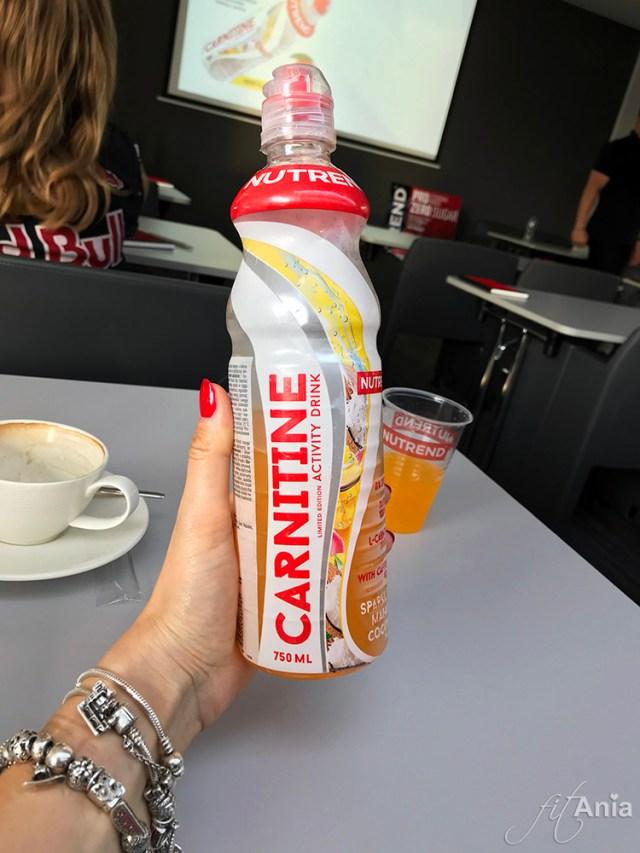 Nutrend Carnitine Activity Drink - lekko gazowany napój z L-karnityną