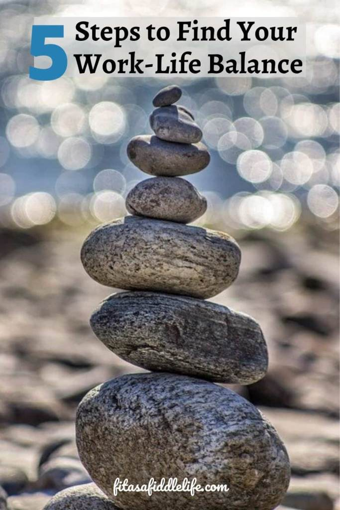 fine living means finding a balance
