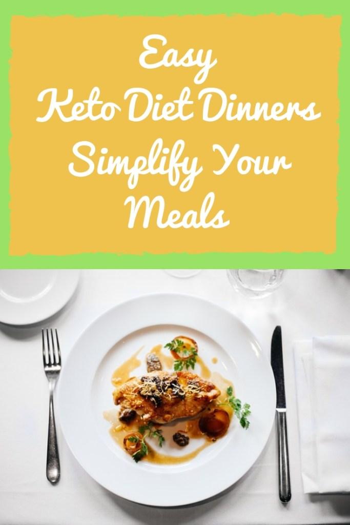 KETO DIET DINNERS