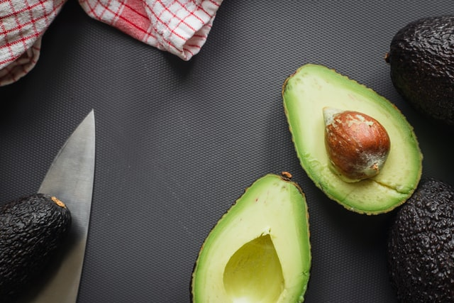 An avocado is a low carb fruit