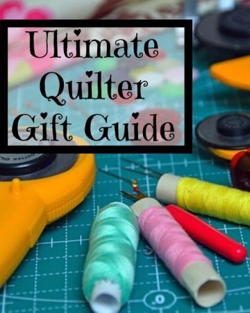 Gift Ideas for Your Favorite Quilter. Quilting supplies and other gifts any quilter will love.