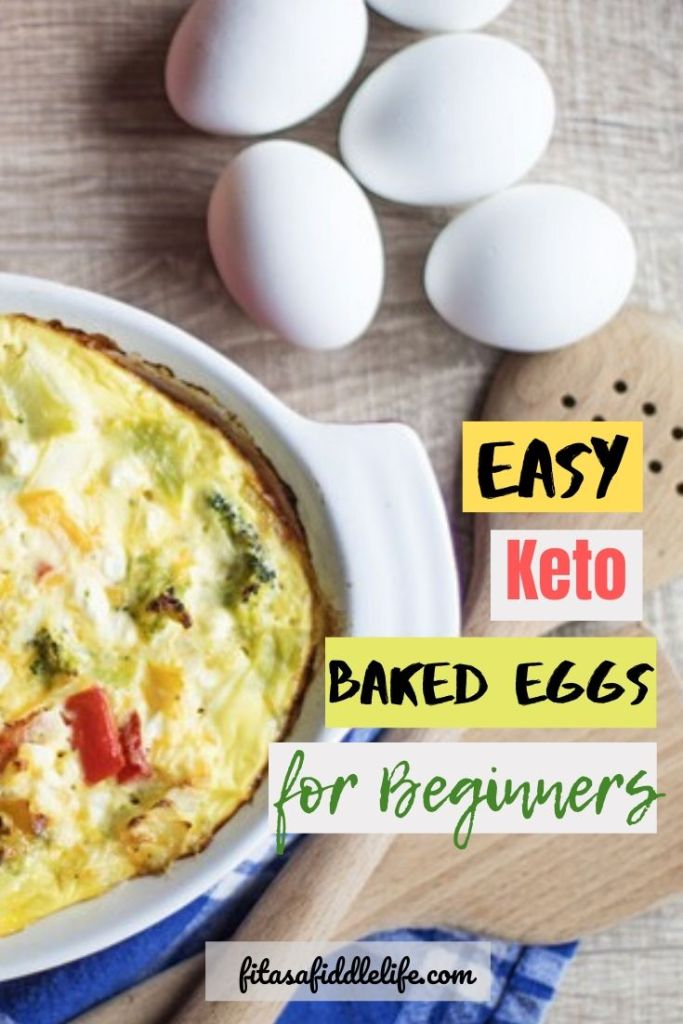 Quick and easy baked eggs.