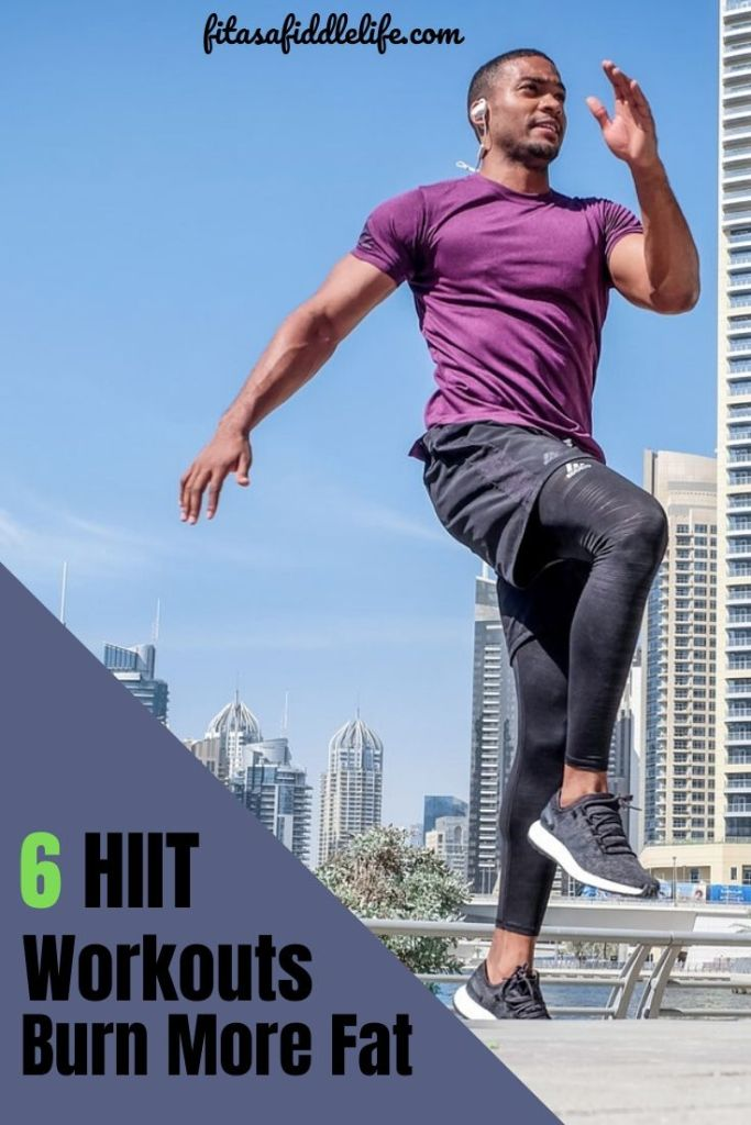 6 HIIT workouts burn fat, lose weight. Tips for beginners and benefits and risk of HIIT.
