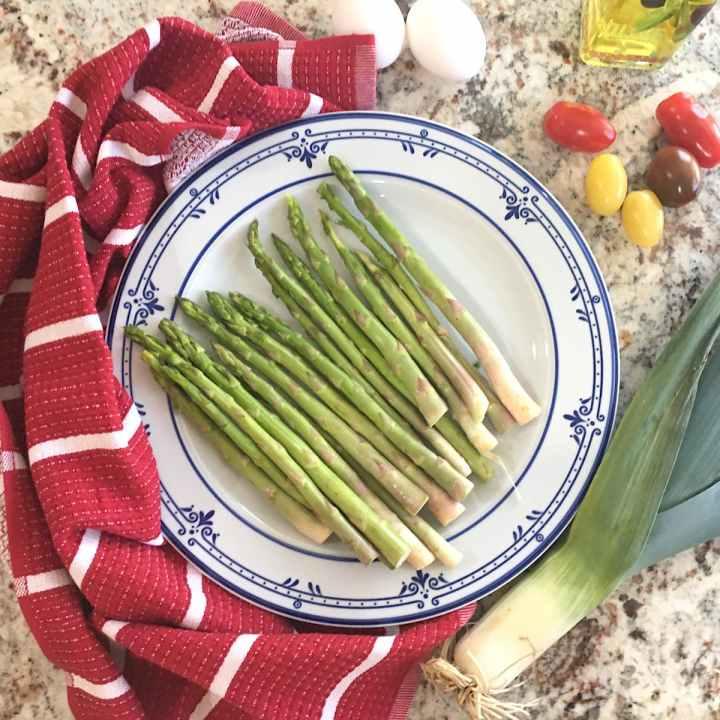 asparagus frittata ingredients
