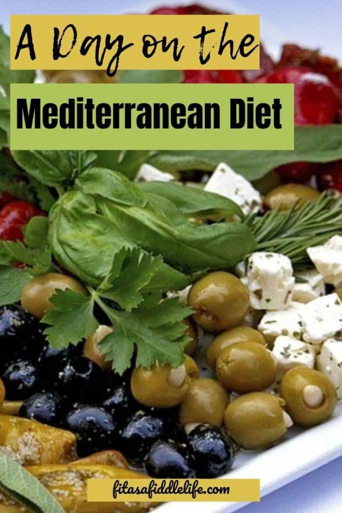 Day on Mediterranean Diet. 1200 calorie menu to try out the diet.