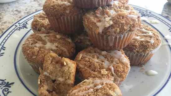 Pecan Apple Spice Muffins