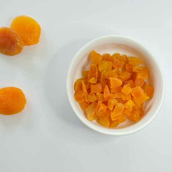 chopped apricots add flavor