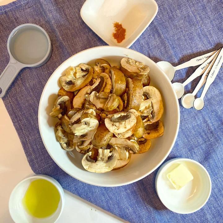sauteed mushroom ingredients