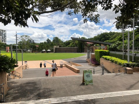 , Roma Street Parklands, Brisbane, Queensland, Fit Average Jo
