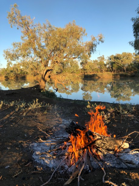 , LONGREACH, Queensland – A free camping spot that was second to none., Fit Average Jo