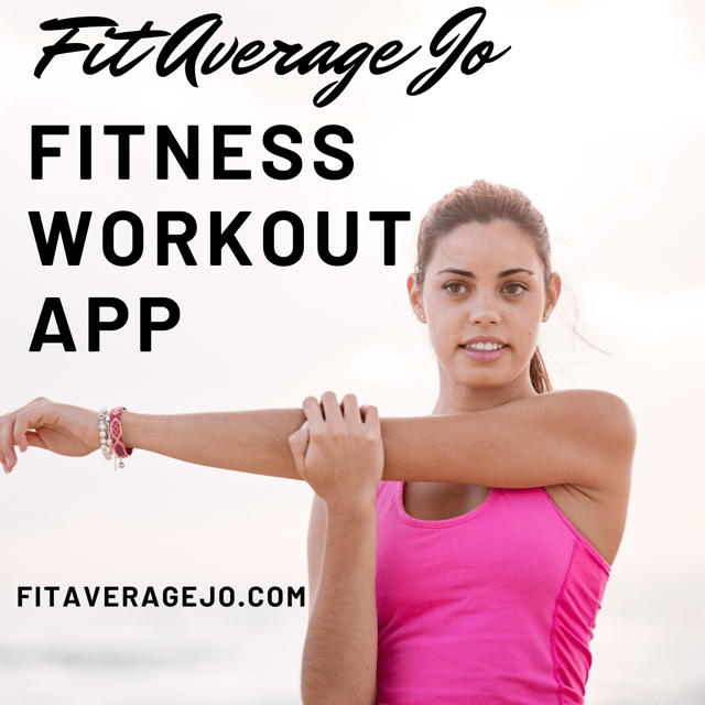 , TAKE YOUR TRAINER WITH YOU IN AN APP, Fit Average Jo