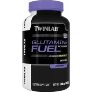 TWINLAB Glutamine Fuel Powder, 0.66lb-0