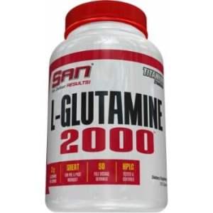 SAN L-Glutamine 2000, 100Caps -0