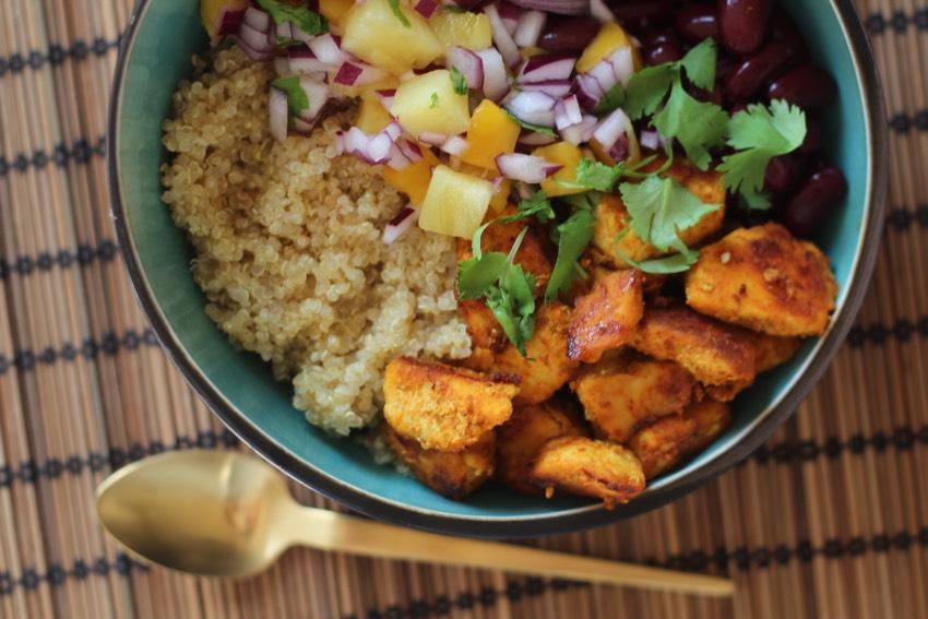 recept-quinoa-bowl-kip-bonen-6