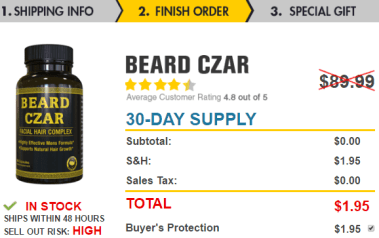 beard-czar-facial-hair-complex-ingredients-pay-only-shipping-handling