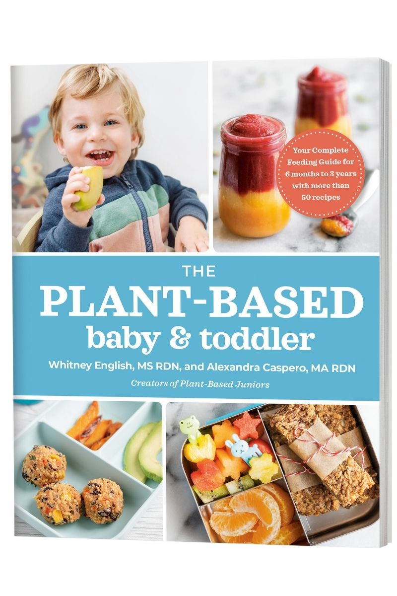 Plant-Based Baby and Toddler book cover