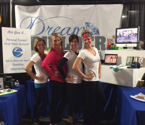 SLO Health and Fitness Expo Booth