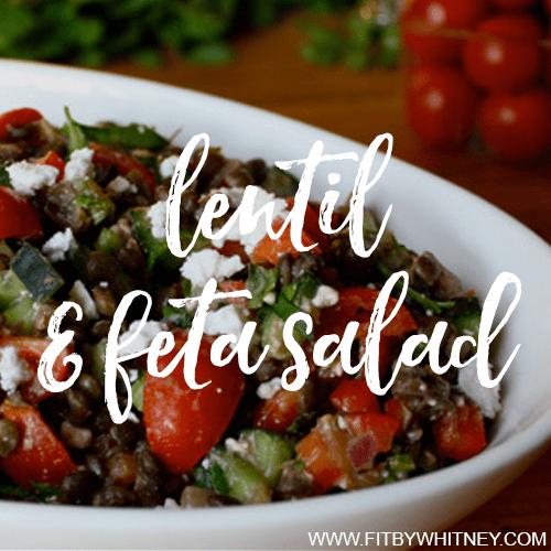 Lentil and Feta Salad Recipe