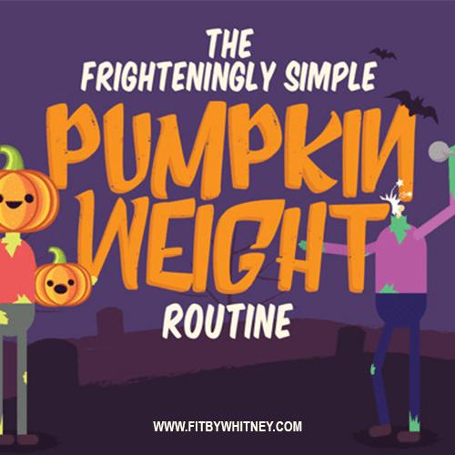 Halloween Pumpkin Workout Exercise Routine