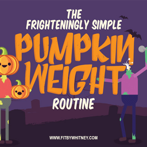 Halloween Pumpkin Workout Exercise Routine