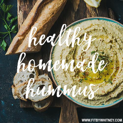 Healthy Homemade Hummus Recipe