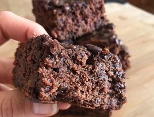 brownie au chocolat sans sucre ni gluten