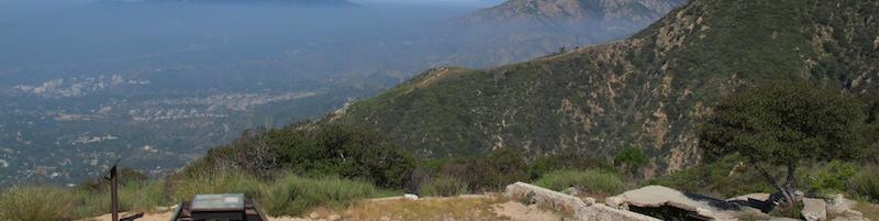 echo mountain hike in la
