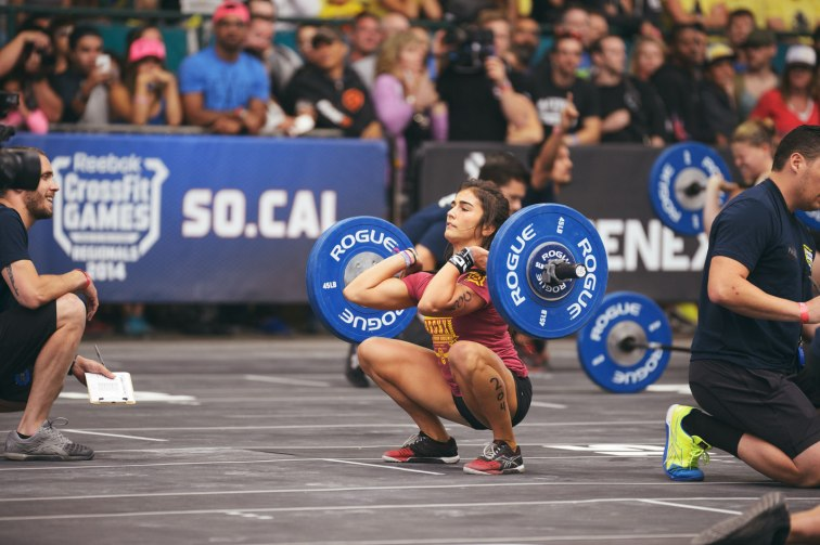 Photo courtesy of games.crossfit.com