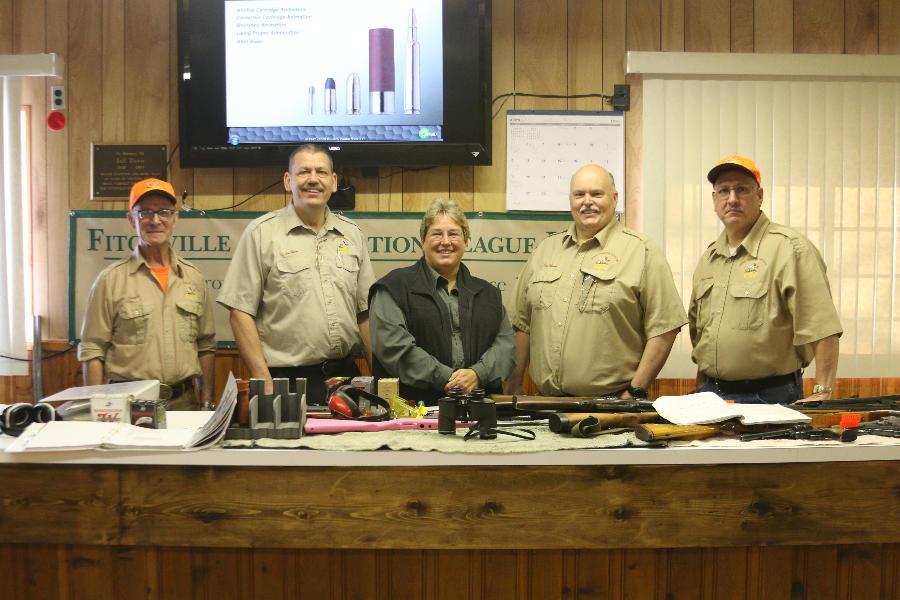 Hunter Education Instructors- Lon Burton, Linda Ringler, ODNR, Paul Besson, Vaughn Thomas, Chuck Summers