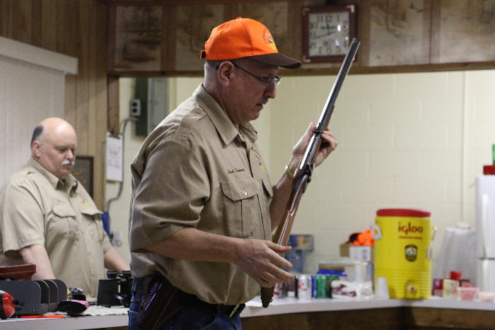 Muzzle loading long gun