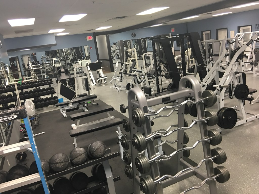 Weights Room at FitCity in Queensbury, NY