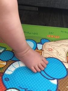 Ella's toes