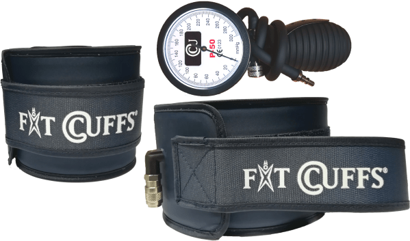 2 x Leg Cuff V2 + Fit Manometer: This is the perfect set to improve strenght and performance for about everything