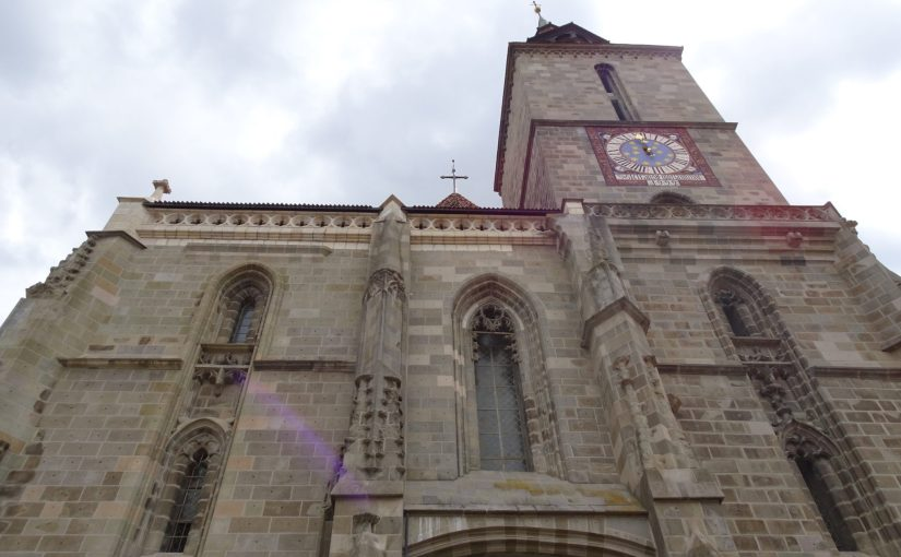 Visite de l'église noire a Brasov