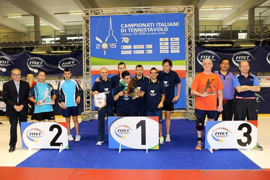 Secondo posto per la Muraverese nel Campionato Italiano Paralimpico (Foto Fitet)