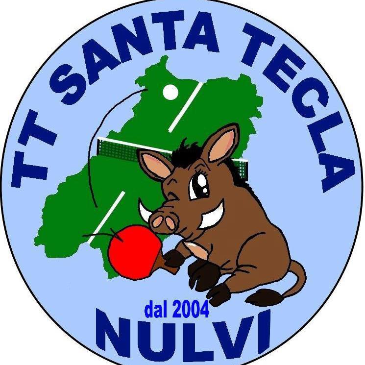 Il logo del Santa Tecla Nulvi disegnato da Marialucia Di Meo