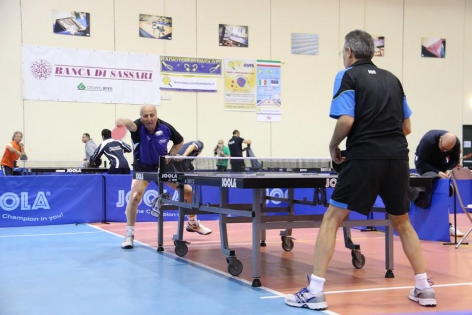 Efisio Pisano in azione (Foto Gianluca Piu)