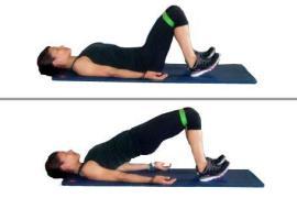 bridge leg day workout