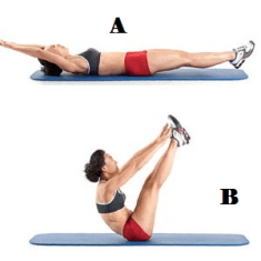 jackknife for abs workout routine