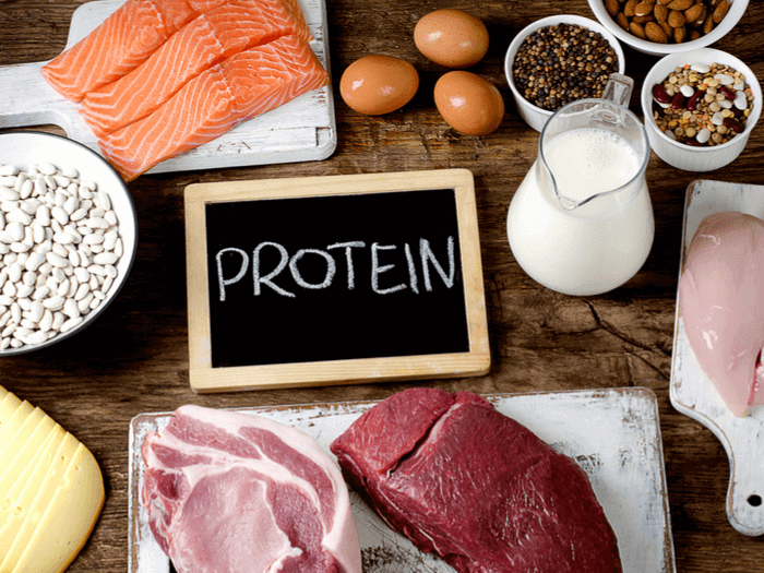 protein intake per day