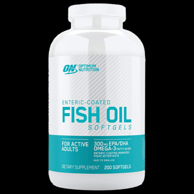 enteric coated fish oil soft gels