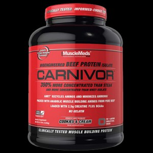 Muscle Meds Carnivor cookies and cream 4lbs