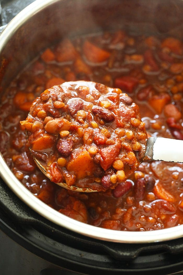 Vegan Instant Pot Chili Fit Foodie Finds