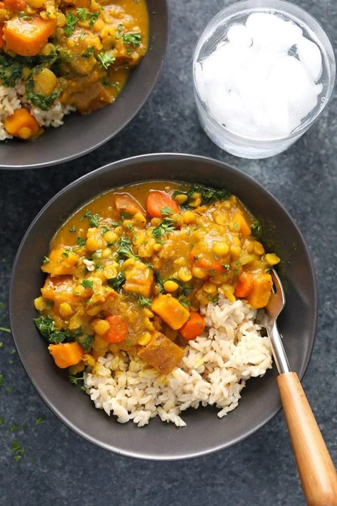 Instant Pot Sweet Potato Curry