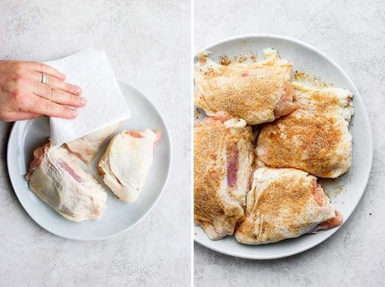 seasoning bone in thighs