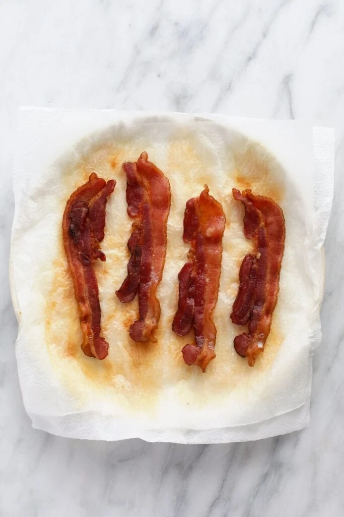 seriously easy microwave bacon