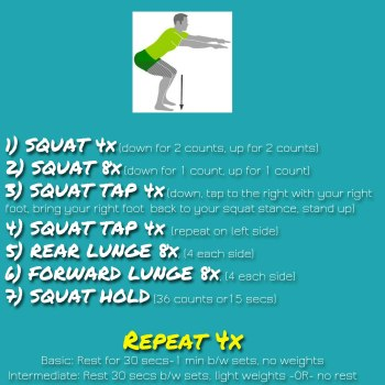 5-Minute Leg Buster Workout